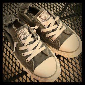 Converse All Star Shoreline Slip- Women Shoes Gray